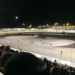 Photo taken at Toledo Speedway by Peter M. on 6/14/2014