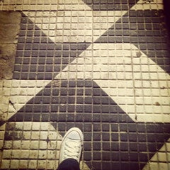 Photo taken at Rua Harmonia by Carolina T. on 6/6/2013
