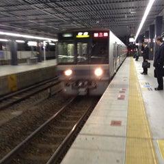 Photo taken at JR 宝塚駅 (Takarazuka Sta.) by fuyu ガ. on 11/9/2012
