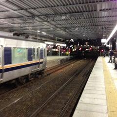 Photo taken at JR 宝塚駅 (Takarazuka Sta.) by fuyu ガ. on 4/30/2013