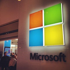 Photo taken at Microsoft by Greg T. on 4/4/2014