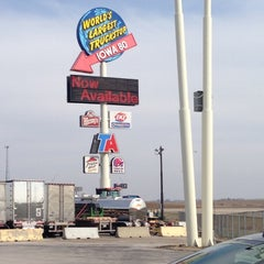 Photo taken at Iowa 80 Truckstop by Chelsea B. on 4/7/2013