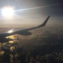Photo taken at Aeroporto Internacional de São Paulo / Guarulhos (GRU) by Jéssica B. on 5/13/2015