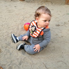 Photo taken at Playground by Gabriela R. on 7/16/2013
