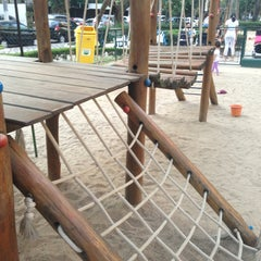 Photo taken at Playground by Gabriela R. on 9/12/2013
