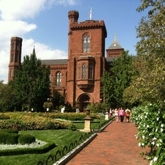 Photo taken at Smithsonian Institution Building (The Castle) by Big Z. on 9/22/2012