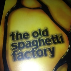 Photo taken at The Old Spaghetti Factory by Jill A. on 3/15/2013