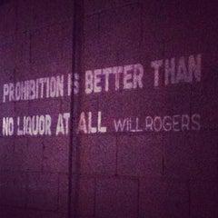 Photo taken at Prohibition by Elizabeth B. on 2/28/2013