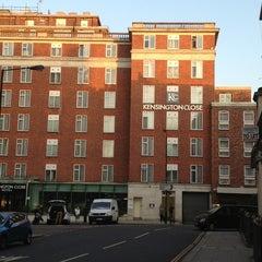 Photo taken at Kensington Close Hotel by Athasit W. on 7/12/2013