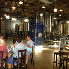 Photo taken at Good People Brewing by Dan W. on 6/15/2013