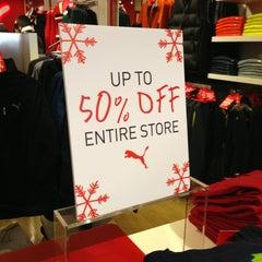 Photo taken at The PUMA Store Boston by Ben M. on 11/29/2013