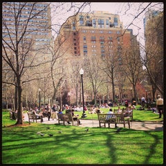 Photo taken at Rittenhouse Square by Keith T. on 4/10/2013