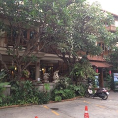 Photo taken at Vieng Mantra Hotel by Manu A. on 3/28/2014