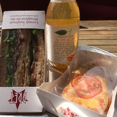 Photo taken at Pret A Manger by Silvia R. on 8/22/2014