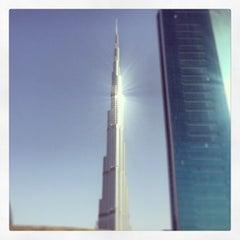 Photo taken at Burj Khalifa / Dubai Mall Metro Station محطة مترو برج خليفة / دبي مول by Mohammad A. on 3/8/2013