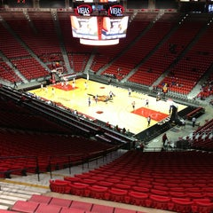 Photo taken at Viejas Arena by Michael B. on 2/2/2013