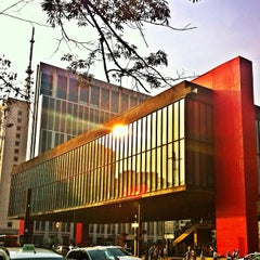 Photo taken at Museu de Arte de São Paulo (MASP) by Sergio D. on 9/15/2012
