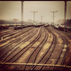Photo taken at Лосиноостровская by Max G. on 11/19/2012