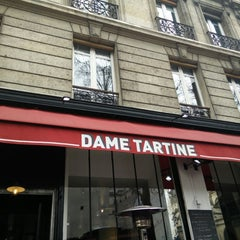 Photo taken at Dame Tartine by Skyseb - Sébastien T. on 3/28/2015