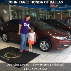Photo taken at John Eagle Honda by Michael B. on 5/16/2015