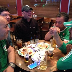 Photo taken at Pat's Pizza Family Restaurant/MVP Sports Lounge by Birkan K. on 4/16/2015