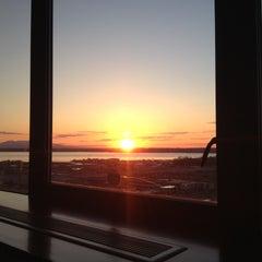 Photo taken at Sheraton Anchorage Hotel & Spa by Antonio g. on 5/25/2013