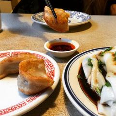 Photo taken at Nom Wah Tea Parlor by Nom Wah Tea Parlor on 4/1/2015