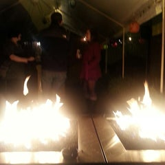 Photo taken at Dharma Lounge by Larissa E. on 10/26/2013