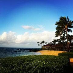 Photo taken at Sheraton Kauai Resort by Molly Y. on 2/2/2013