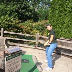 Photo taken at Camp Putt by Miki M. on 7/26/2015