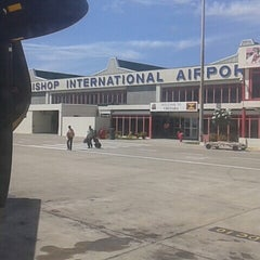 Photo taken at Maurice Bishop International Airport by Lloyd C. on 10/12/2014