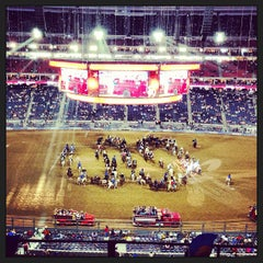 Photo taken at Houston Livestock Show and Rodeo by Allison M. on 3/12/2013