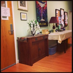 Photo taken at Goodloe Memorial Unitarian Universalist Congregation by 🌟Chelle 🌟 C. on 5/14/2013
