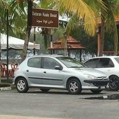 Photo taken at Dataran Kuala Besut by Adiah73 on 4/14/2013