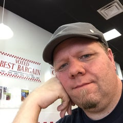 Photo taken at Five Guys by Ceej J. on 1/24/2015