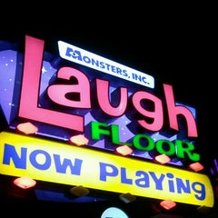 Photo taken at Monsters, Inc. Laugh Floor by Rae A. on 4/4/2013