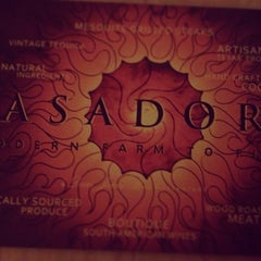 Photo taken at Asador Restaurant by Oh Hey Dallas on 2/6/2013