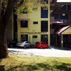 Photo taken at Pusat Pengajian Ilmu Pendidikan by Faizal R. on 1/17/2013