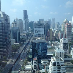 Photo taken at Sofitel So Bangkok by Miguel A. on 12/8/2012