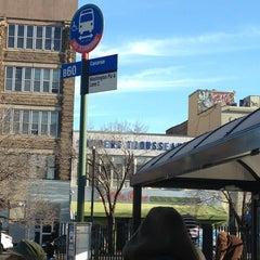 Photo taken at Williamsburg Bridge Bus Terminal by Anthony G. on 1/10/2013