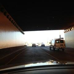Photo taken at Hicks-Ellis Tunnel by Tim Hobart M. on 4/8/2013