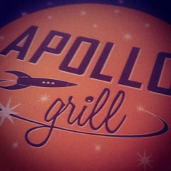 Photo taken at Apollo Grill by Derek A. on 9/18/2014