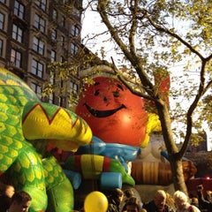 Photo taken at Macy's Parade Balloon Inflation 2012 by Stephen L. on 11/22/2012