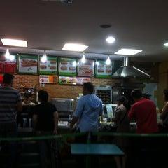 Photo taken at Subway by Marcos Minoru H. on 10/6/2012