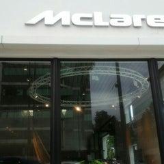 Photo taken at McLaren Beverly Hills by Kim D. on 7/18/2015