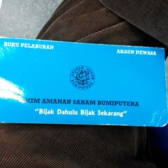 Photo taken at Pejabat Pos Besar Seremban by Shahrul I. on 9/9/2014