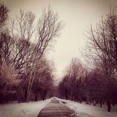 Photo taken at Portage Creek Bicentennial Park by Sarah B. on 1/12/2014