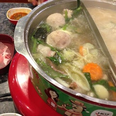 Photo taken at Hot Pot Inter Buffet by N S. on 7/30/2013