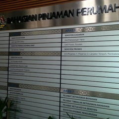 Photo taken at Bahagian Pinjaman Perumahan by Aznurin A. on 9/20/2013