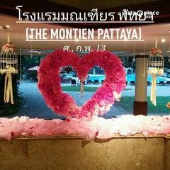 Photo taken at The Montien Hotel Pattaya by Naratip N. on 2/13/2015